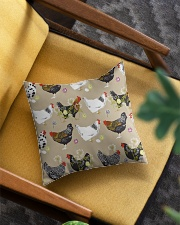 Welcome To My Farm Square Pillowcase aos-pillow-square-front-lifestyle-07