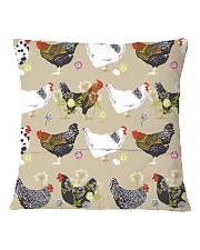 Welcome To My Farm Square Pillowcase back
