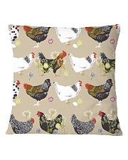 Welcome To My Farm Square Pillowcase front