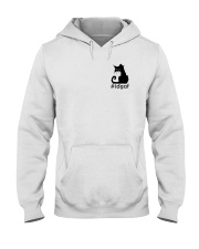 Cat IDGAF Hooded Sweatshirt thumbnail