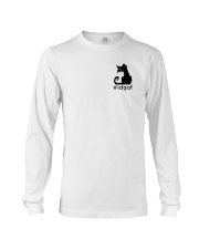 Cat IDGAF Long Sleeve Tee thumbnail