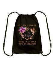 I Will Hold You In My Heart Drawstring Bag thumbnail