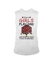 Some Girls Play Dnd Sleeveless Tee thumbnail