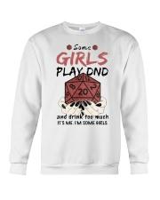 Some Girls Play Dnd Crewneck Sweatshirt thumbnail