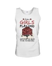 Some Girls Play Dnd Unisex Tank thumbnail