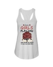 Some Girls Play Dnd Ladies Flowy Tank thumbnail