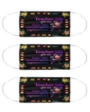 T-teach-1707-li92 Cloth Face Mask - 3 Pack front