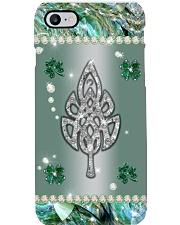Celtic Leaf Crystal Irish Phone Case 1402-033th Phone Case i
