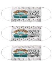N-reads-3107-li199 Cloth Face Mask - 3 Pack front