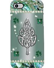 Celtic Leaf Crystal Irish Phone Case 1402-033th Phone Case i-phone-8-case