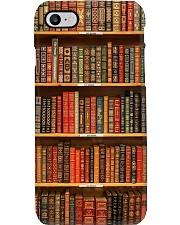 Book Lovers Bookshelves Phone Case 1103-040hv Phone Case i-phone-8-case