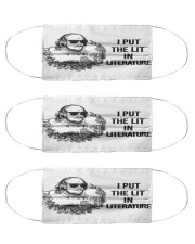 N-reads-3107-li200 Cloth Face Mask - 3 Pack front