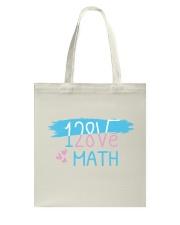 I Love Math  Tote Bag thumbnail