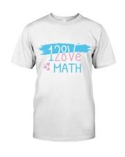 I Love Math  Classic T-Shirt thumbnail