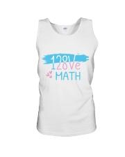I Love Math  Unisex Tank thumbnail