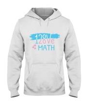 I Love Math  Hooded Sweatshirt thumbnail