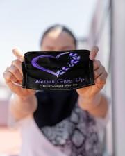 fibromyalgia heart mas  Cloth Face Mask - 3 Pack aos-face-mask-lifestyle-07