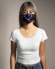 fibromyalgia heart mas  Cloth Face Mask - 3 Pack aos-face-mask-lifestyle-15