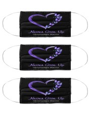 fibromyalgia heart mas  Cloth Face Mask - 3 Pack front