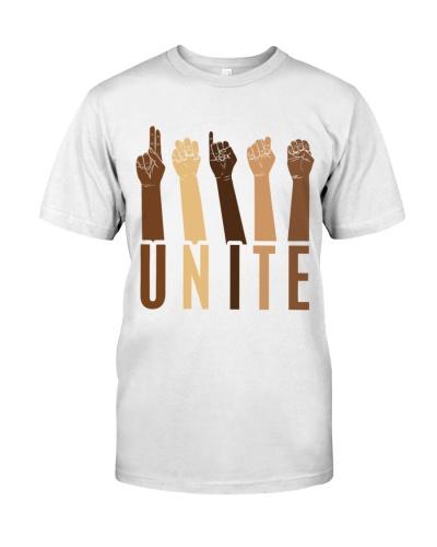 black unite sign language