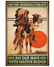 native american sun never poster 11x17 Poster front