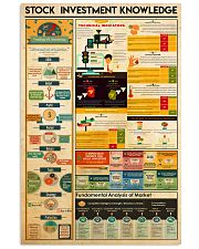 stock investment knowledge 11x17 Poster front