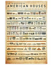 architecture american houses 11x17 Poster front