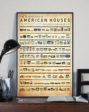 architecture american houses 11x17 Poster lifestyle-poster-2