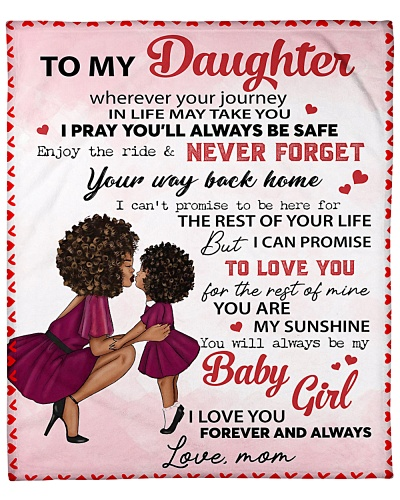 black to my daughter