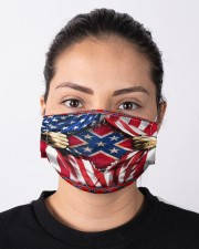 Southern lifestyle flag mas Cloth Face Mask - 3 Pack aos-face-mask-lifestyle-01