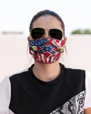 Southern lifestyle flag mas Cloth Face Mask - 3 Pack aos-face-mask-lifestyle-02