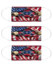 Southern lifestyle flag mas Cloth Face Mask - 3 Pack front