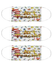 art teacher I am mas Cloth Face Mask - 3 Pack front