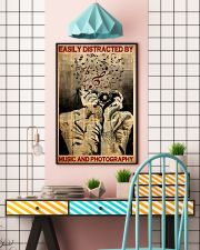 Music Photography easily distracted pt dvhh-NTH 11x17 Poster lifestyle-poster-6
