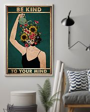 mental be kind to your mind poster 11x17 Poster lifestyle-poster-1