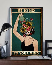 mental be kind to your mind poster 11x17 Poster lifestyle-poster-2