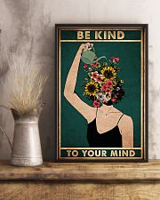 mental be kind to your mind poster 11x17 Poster lifestyle-poster-3