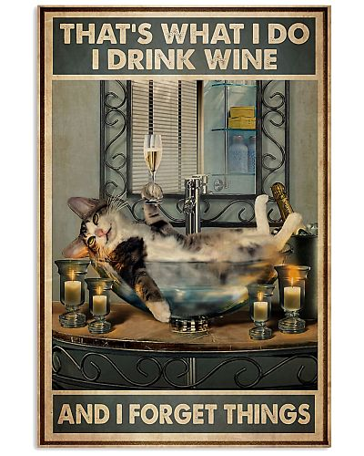Cat Wine Forget Thing
