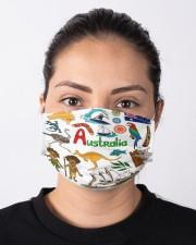 australia map mas  Cloth Face Mask - 3 Pack aos-face-mask-lifestyle-01