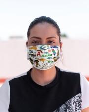australia map mas  Cloth Face Mask - 3 Pack aos-face-mask-lifestyle-03