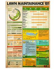 Lawn Maintainance knowledge 24x36 Poster front
