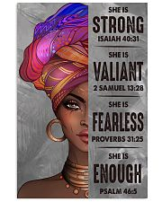 black girl bible 11x17 Poster front