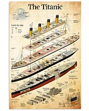 titanic 24x36 Poster front