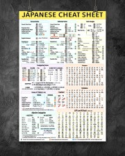 1 Japanese Cheat Sheet 5-9 poster 24x36 Poster aos-poster-portrait-24x36-lifestyle-12