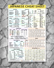 1 Japanese Cheat Sheet 5-9 poster 24x36 Poster aos-poster-portrait-24x36-lifestyle-13