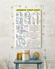 1 Japanese Cheat Sheet 5-9 poster 24x36 Poster lifestyle-holiday-poster-3