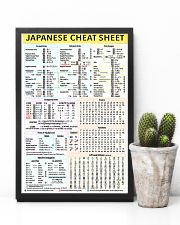 1 Japanese Cheat Sheet 5-9 poster 24x36 Poster lifestyle-poster-8