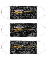 school bus driver mas Cloth Face Mask - 3 Pack front