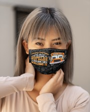 grumpy old bus driver killing it mas  Cloth Face Mask - 3 Pack aos-face-mask-lifestyle-18