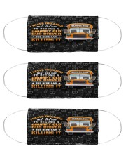 grumpy old bus driver killing it mas  Cloth Face Mask - 3 Pack front